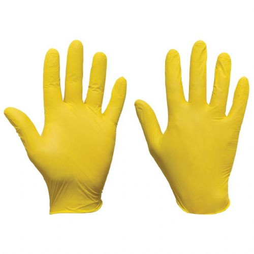 Supertouch Yellow Ultra Nitrile Powder Free Gloves - 2000 Pack